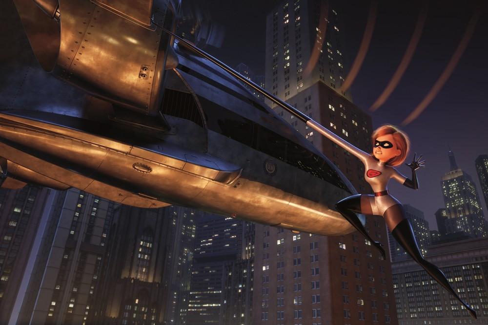 Gli incredibili 2: una scena del film d'animazione