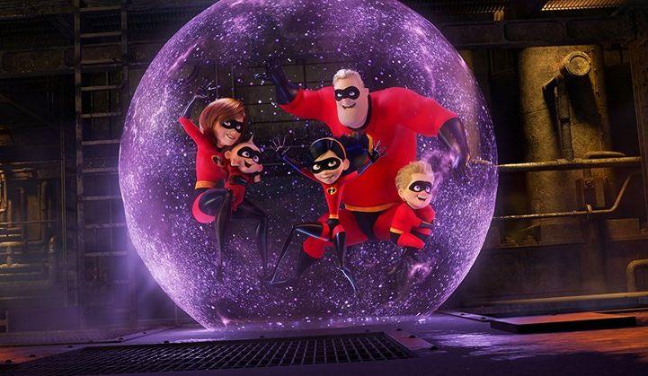 Gli incredibili 2: un'immagine tratta dal film animato