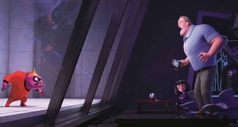 Gli incredibili 2: un'immagine del film animato