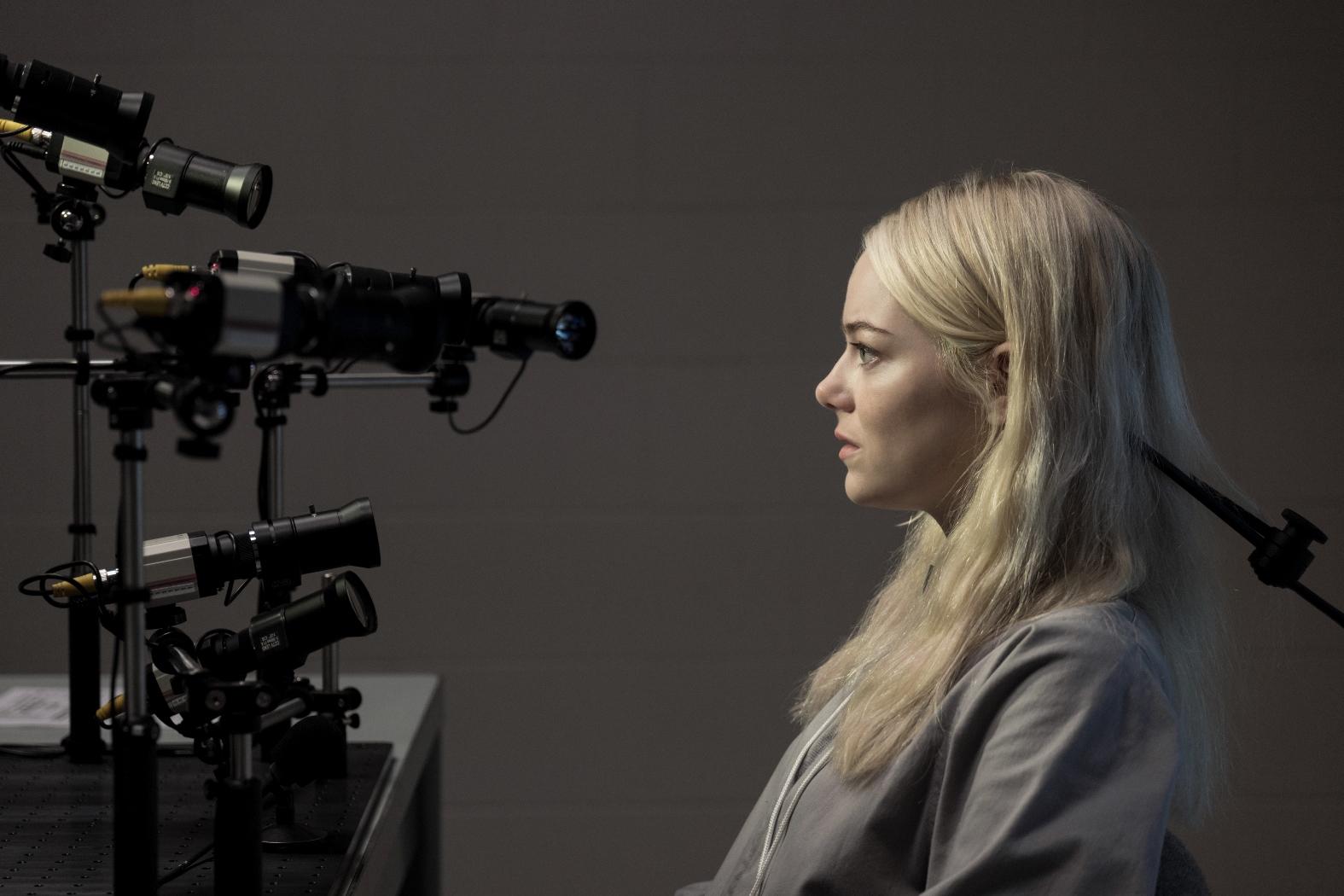 Maniac: Emma Stone in una sequenza della prima stagione