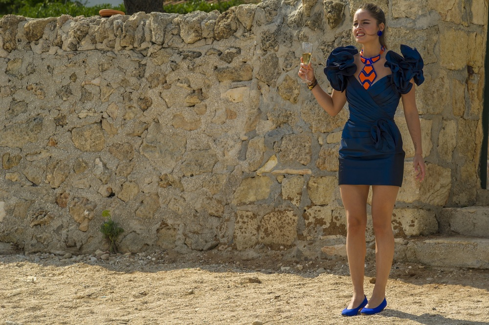 Ricchi di fantasia: Matilde Gioli in una scena del film