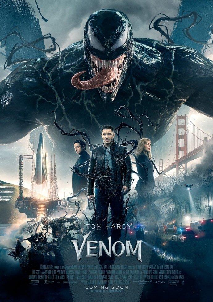 Venom: il nuovo poster riunisce il cast