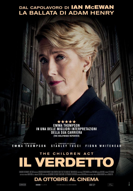 Il verdetto: la locandina italiana