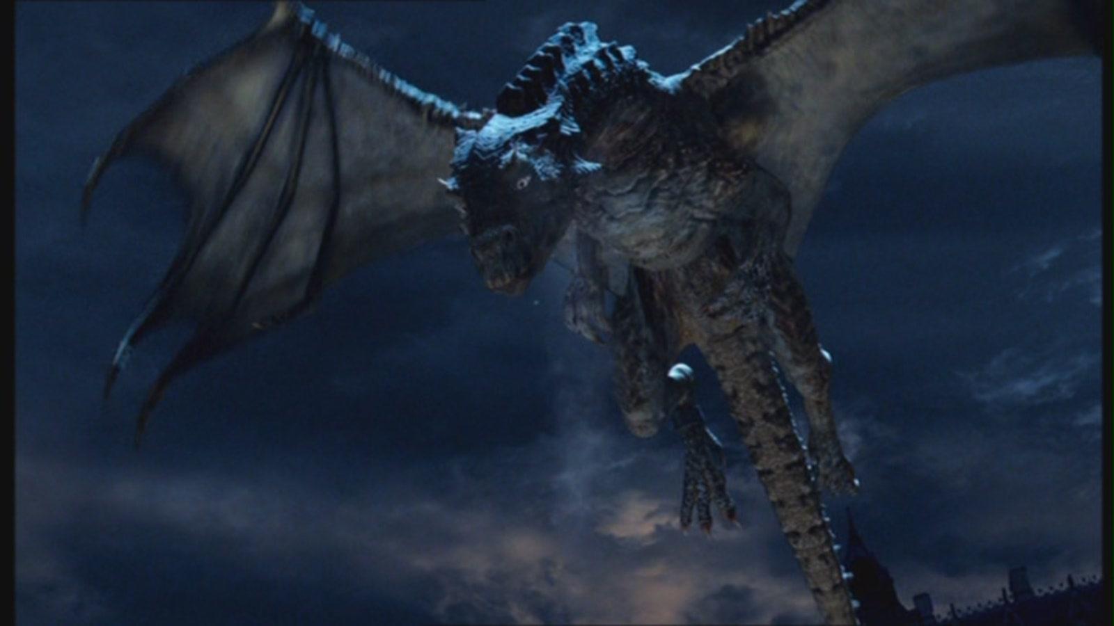 Merlin: una foto del Grande Drago