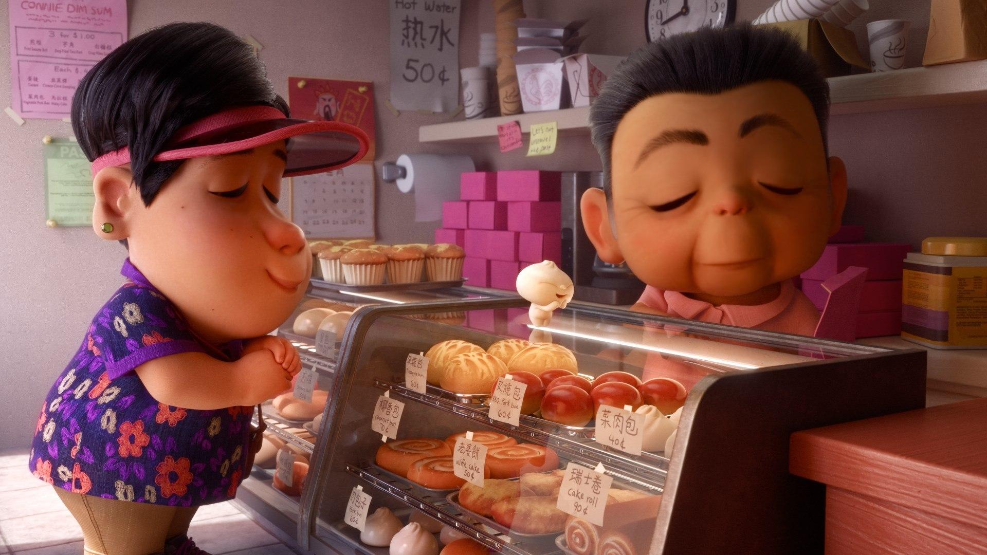 Bao: una scena del corto Pixar