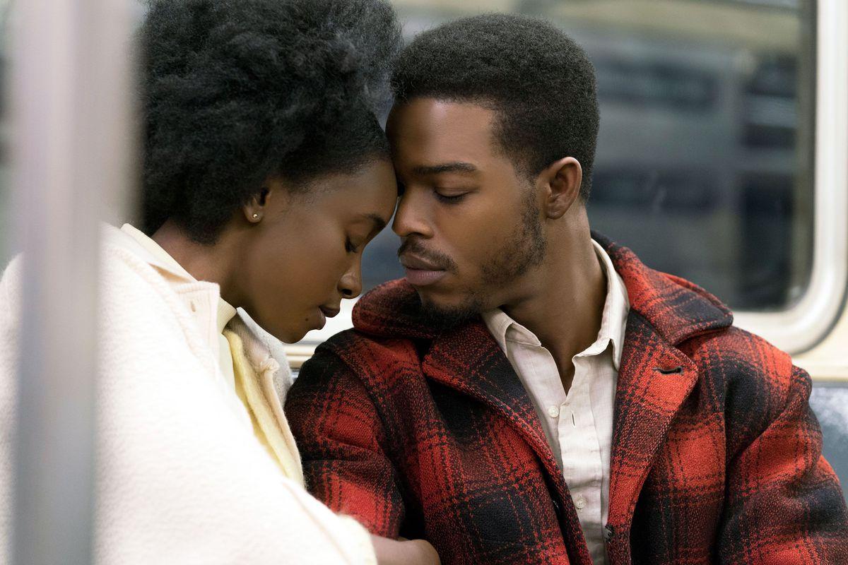 If Beale Street Could Talk: Stephan James e KiKi Layne una scena del film