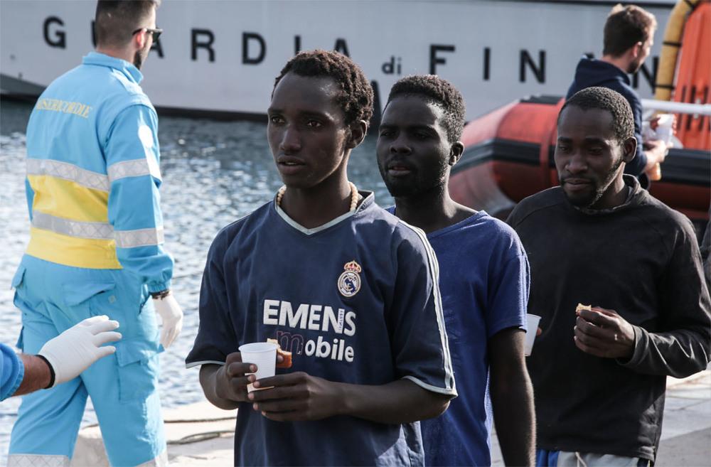 La libertà non deve morire in mare: un'immagine del documentario italiano