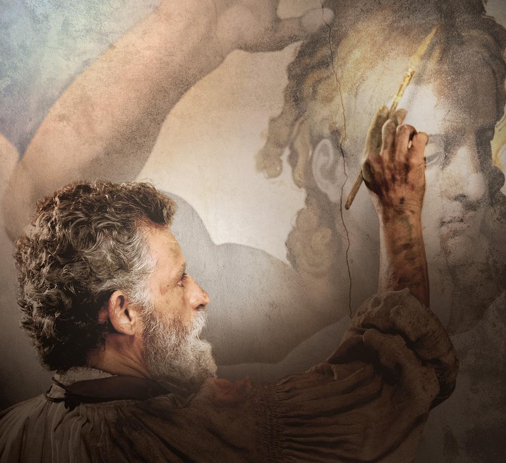 Michelangelo - Infinito: Enrico Lo Verso in un'immagine del film documentario