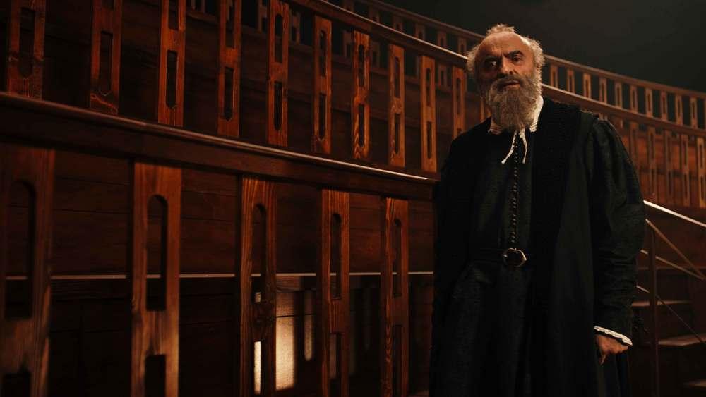 Michelangelo - Infinito: Ivano Marescotti in una scena del film documentario