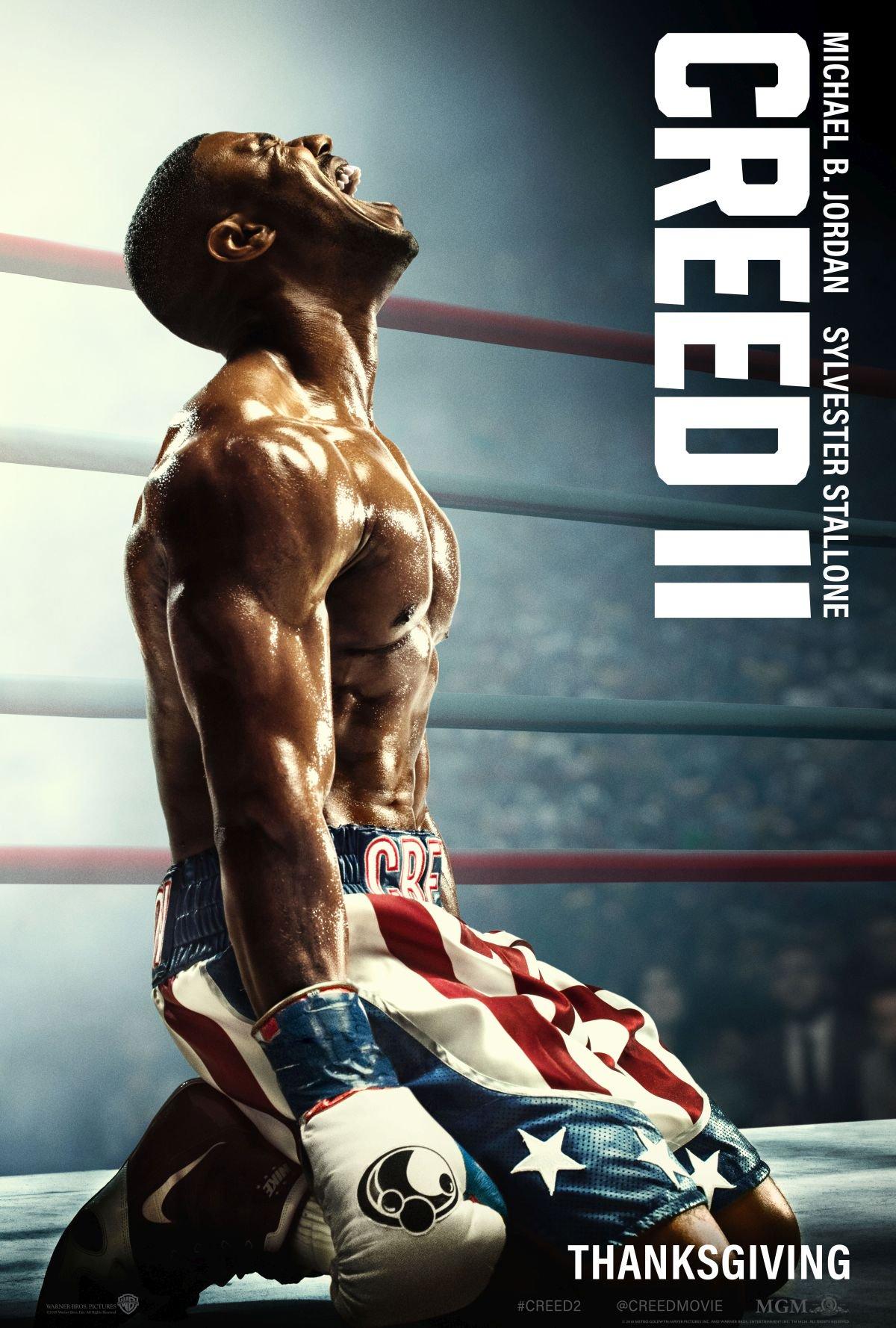 Creed II: un nuovo poster del film