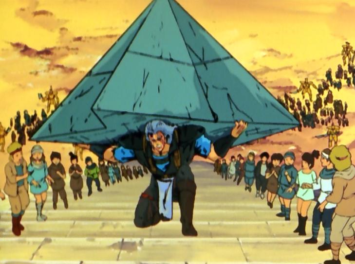 Ken il guerriero: il sacrificio di Shu
