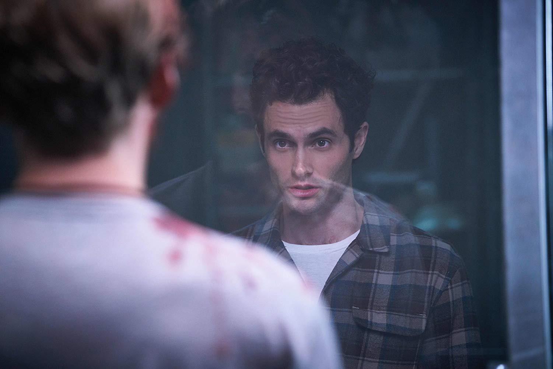 You: Penn Badgley in un'immagine della prima stagione