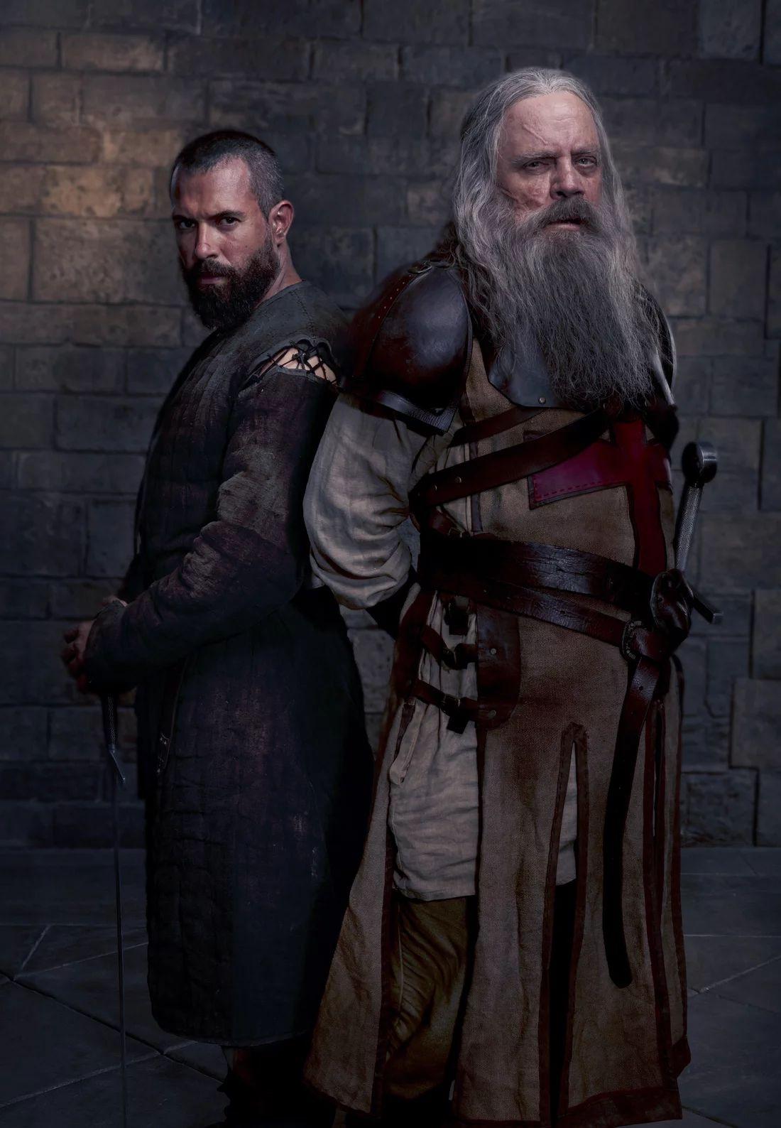 Knightfall: Mark Hamill e Tom Culle nella prima foto della stagione 2
