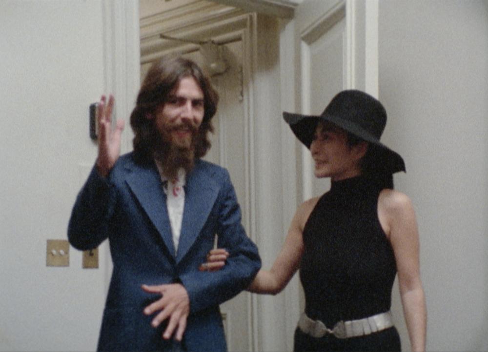 Imagine: George Harrison e Yoko Ono nel documentario