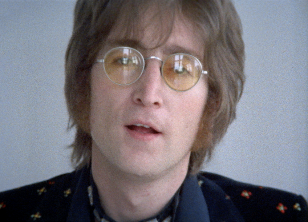 Imagine: un primo piano di John Lennon