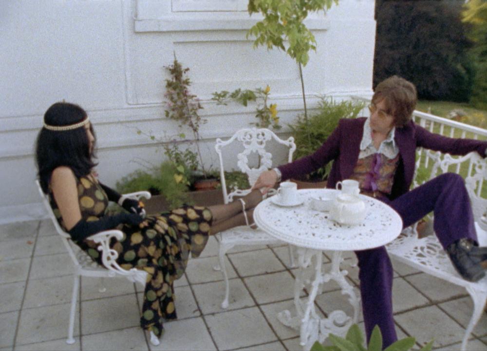 Imagine: John Lennon e Yoko Ono in un'immagine del documentario