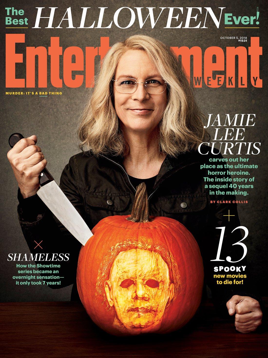 Halloween: Jamie Lee Curtis sulla copertina di EW