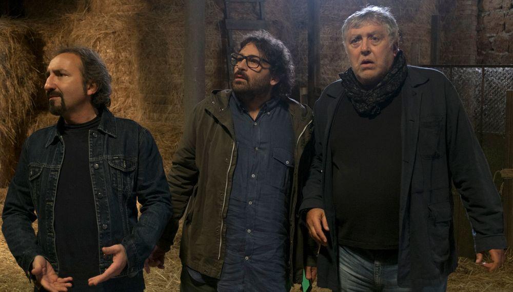 Non è vero ma ci credo: Paolo Vita, Maurizio Mattioli e Fabrizio Rotondo in una scena del film