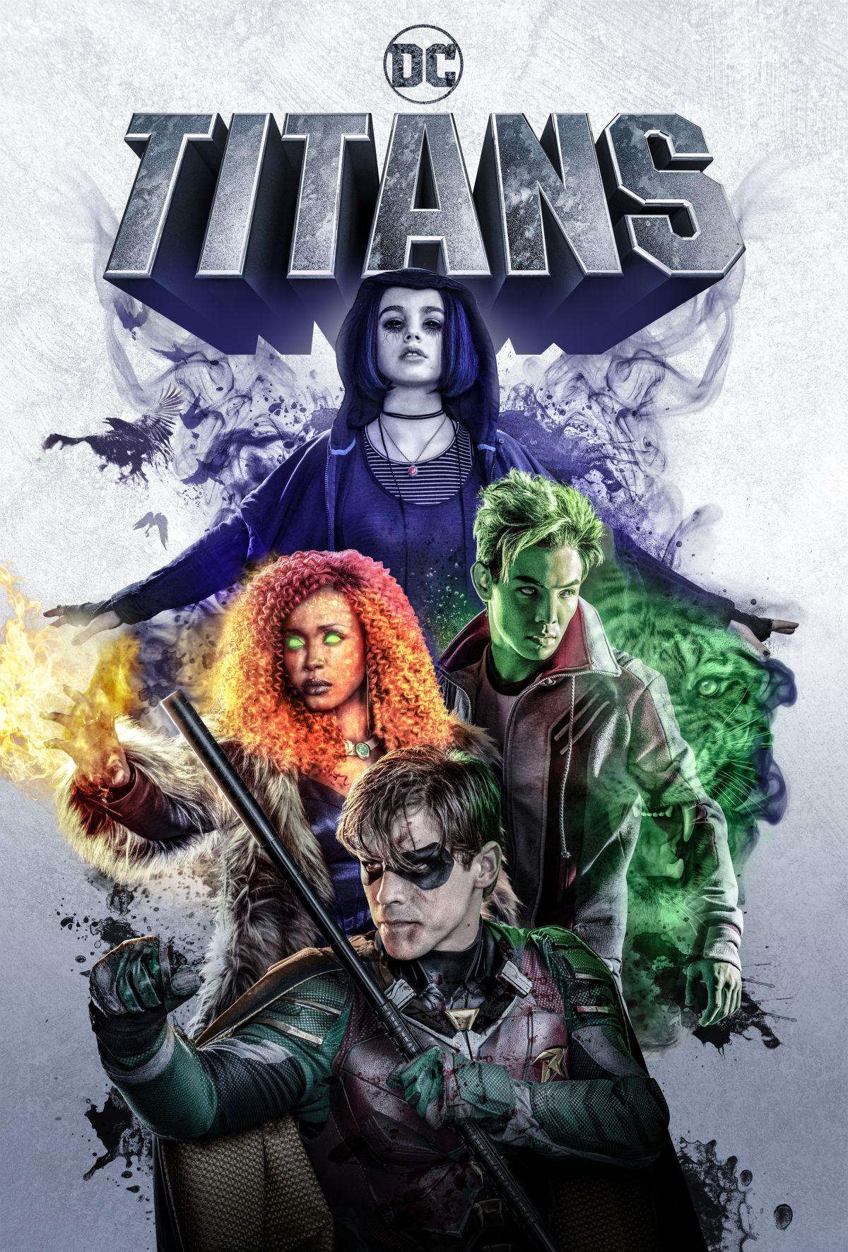 Titans: la locandina ufficiale