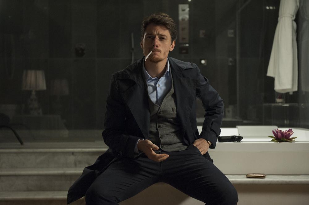 Un nemico che ti vuole bene: Antonio Folletto in una scena del film