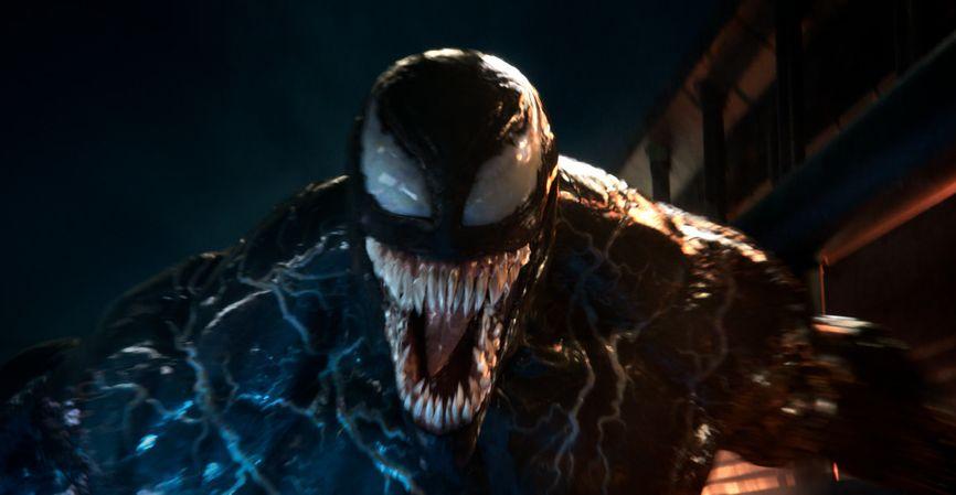 Venom: una scena del film