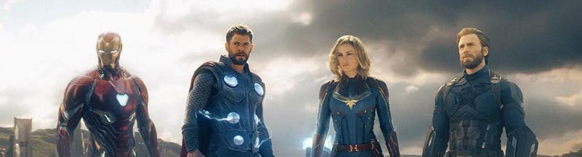 Avengers 4: Capitan American, Capitan Marvel, Iron Man e Thor in una fanart