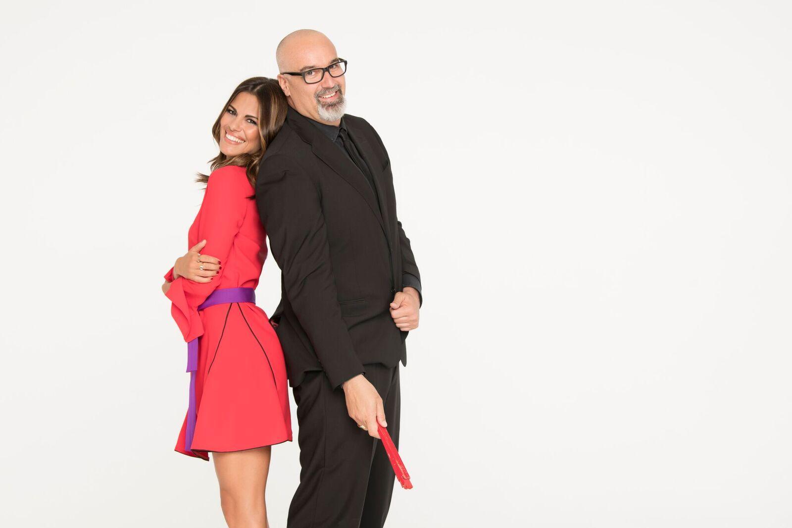 Bianca Guaccero e Giovanni Ciacci in Detto Fatto 2018