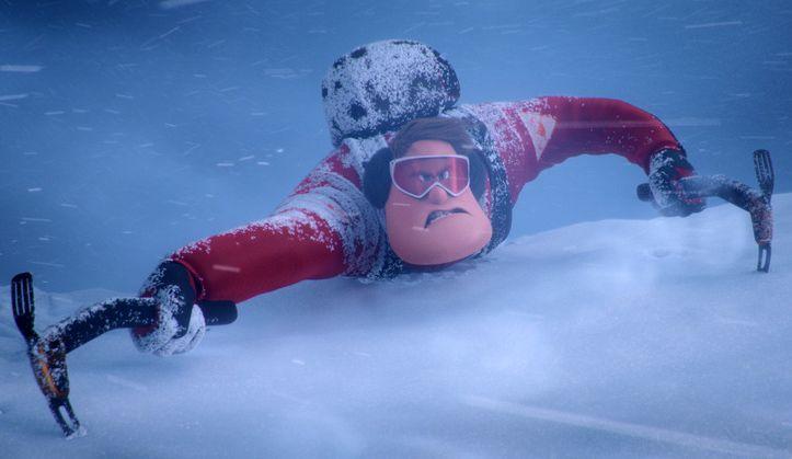 Smallfoot - Il mio amico delle nevi: un momento del film animato
