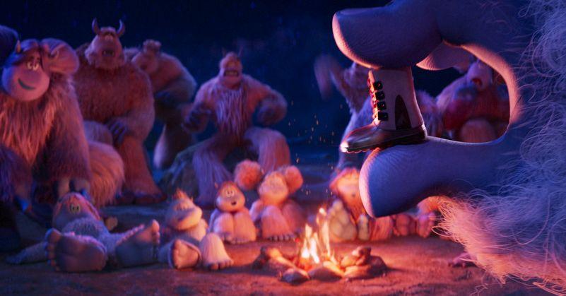 Smallfoot - Il mio amico delle nevi: un momento del film d'animazione