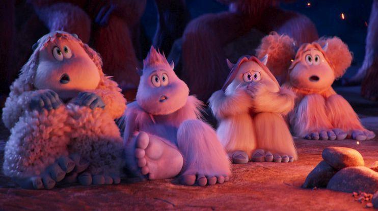 Smallfoot - Il mio amico delle nevi: una scena del film animato