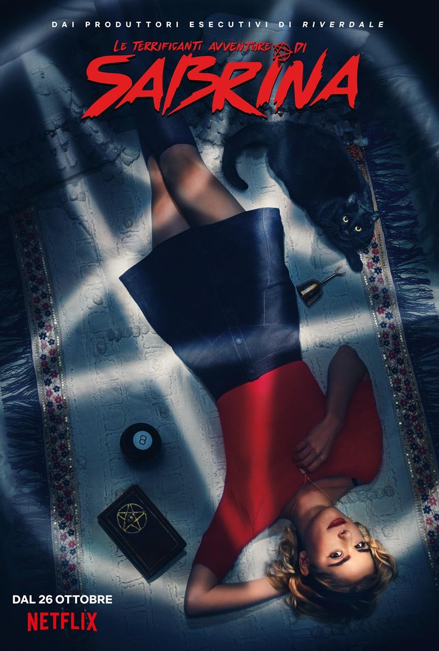 Le terrificanti avventure di Sabrina: il poster ufficiale della serie