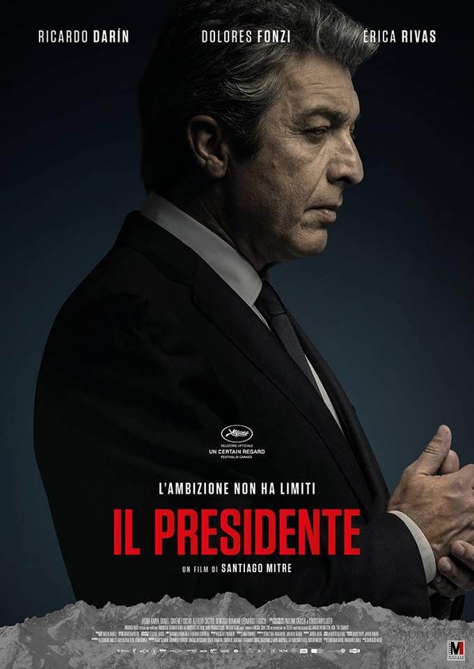Il presidente: la locandina italiana