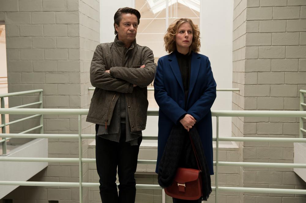 Il complicato mondo di Nathalie: Karin Viard e Thibault de Montalembert  in una scena del film