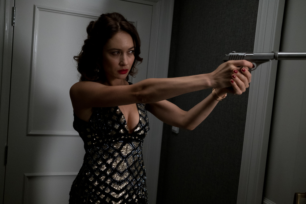 Johnny English colpisce ancora: Olga Kurylenko in un'immagine del film