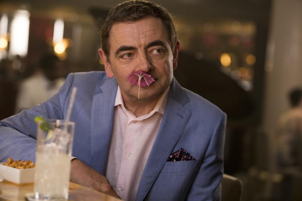 Johnny English colpisce ancora: Rowan Atkinson in un'immagine del film