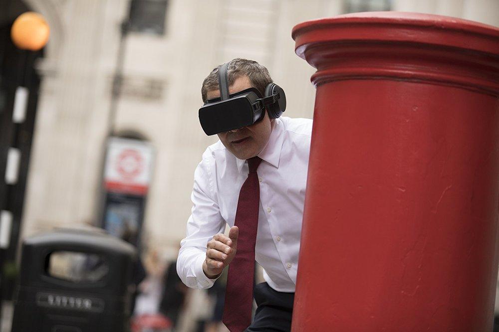 Johnny English colpisce ancora: Rowan Atkinson in una scena del film