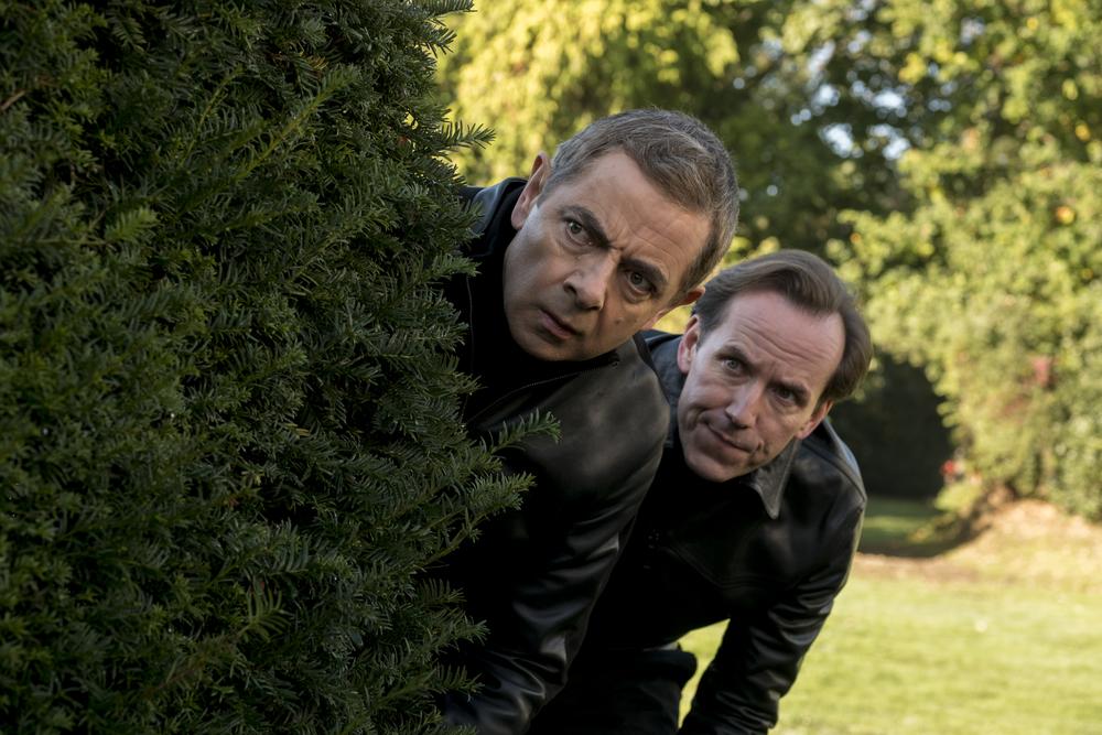 Johnny English colpisce ancora: Rowan Atkinson e Ben Miller in un'immagine del film