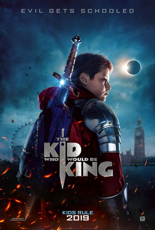 Locandina di The Kid Who Would Be King