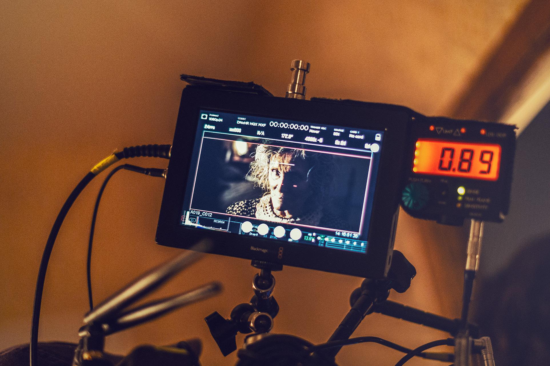 In the Trap: Un'immagine dal set del film