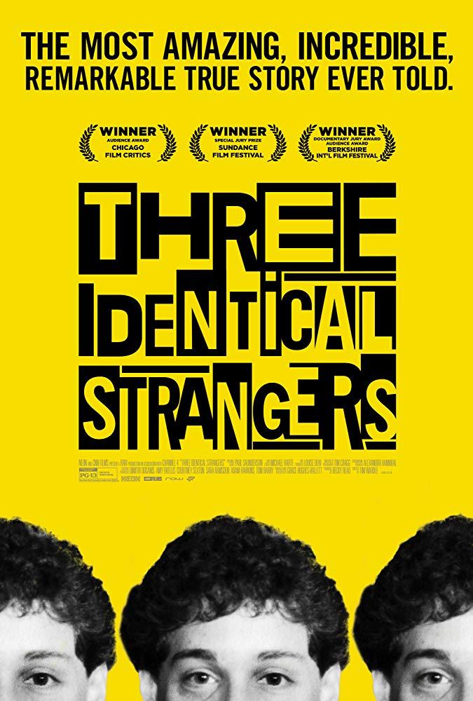Locandina di Three Identical Strangers