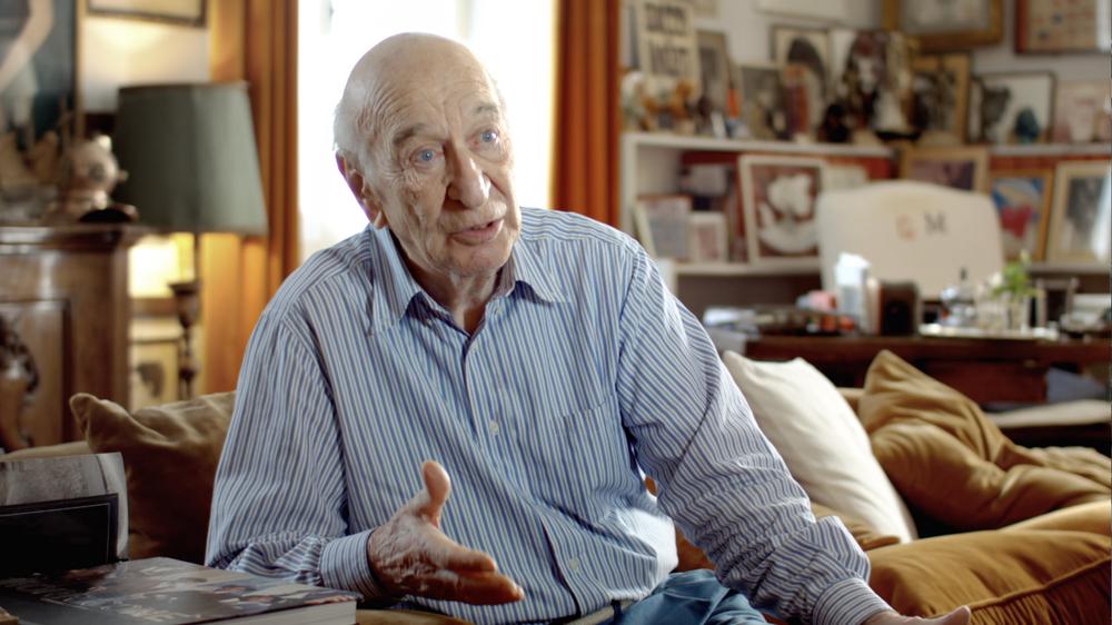 La morte legale: Giuliano Montaldo in un'immagine del documentario