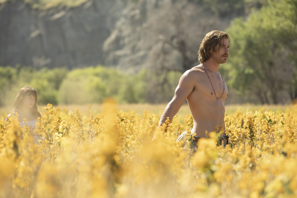 Bad Times at the El Royale: una foto del protagonista Chris Hemsworth