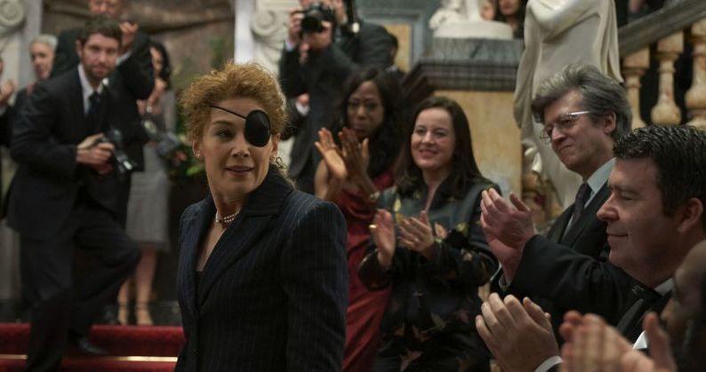 A Private War: Rosamund Pike in un'immagine tratta dal film