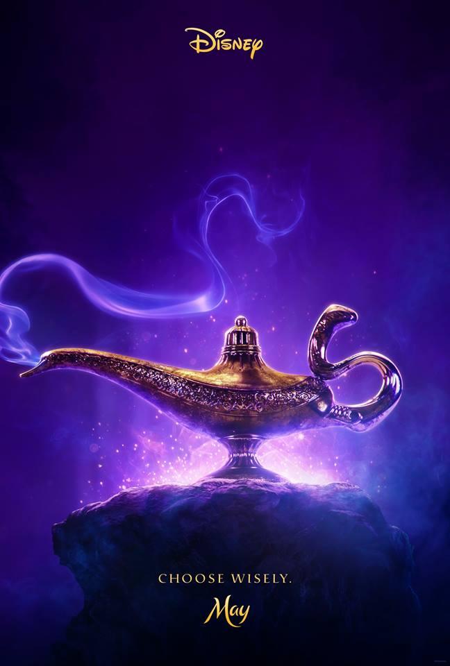 Aladdin: il primo poster del film
