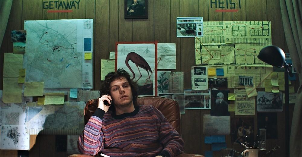 American Animals: Evan Peters in una scena del film
