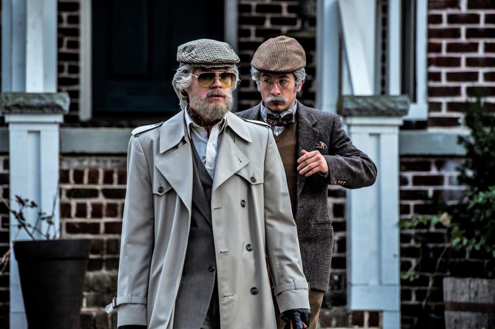 American Animals: Evan Peters e Barry Keoghan in una scena del film