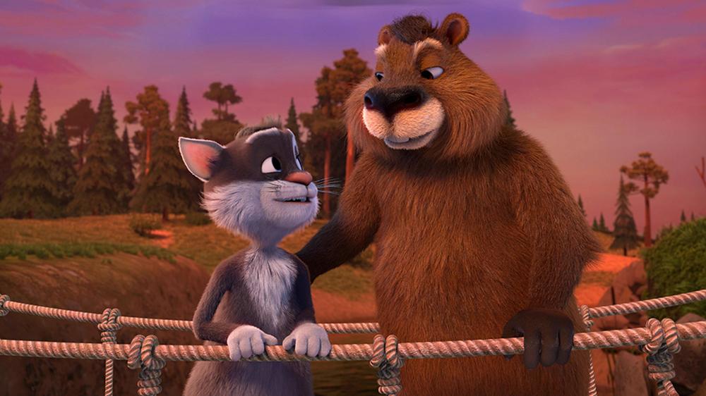 Baffo & Biscotto - Missione Spaziale: un'immagine tratta dal film animato