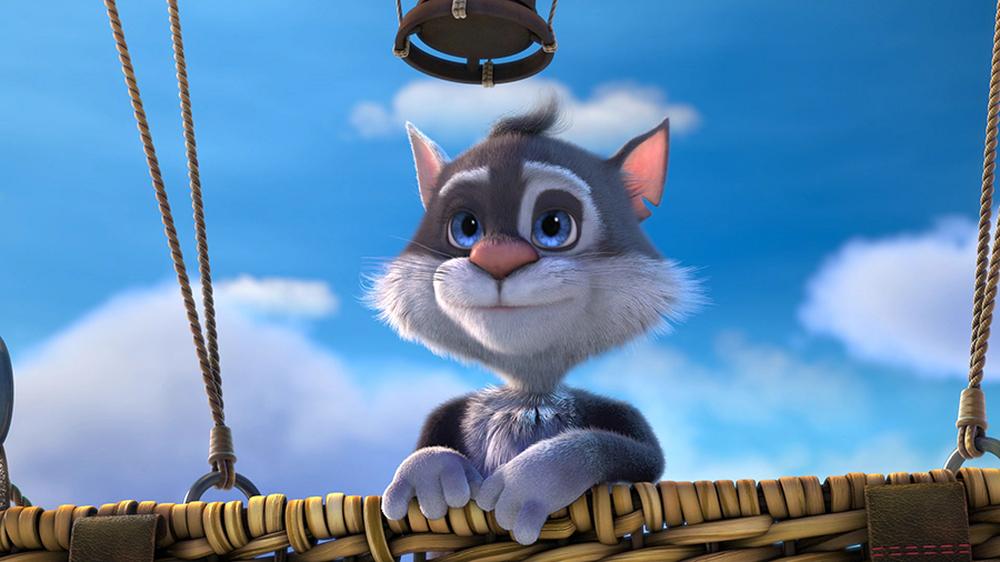 Baffo & Biscotto - Missione Spaziale: un'immagine tratta dal film d'animazione