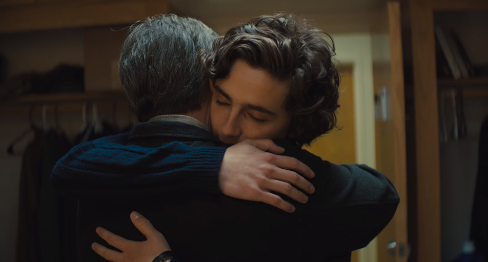 Beautiful Boy: Timothée Chalamet e Steve Carell in un momento del film