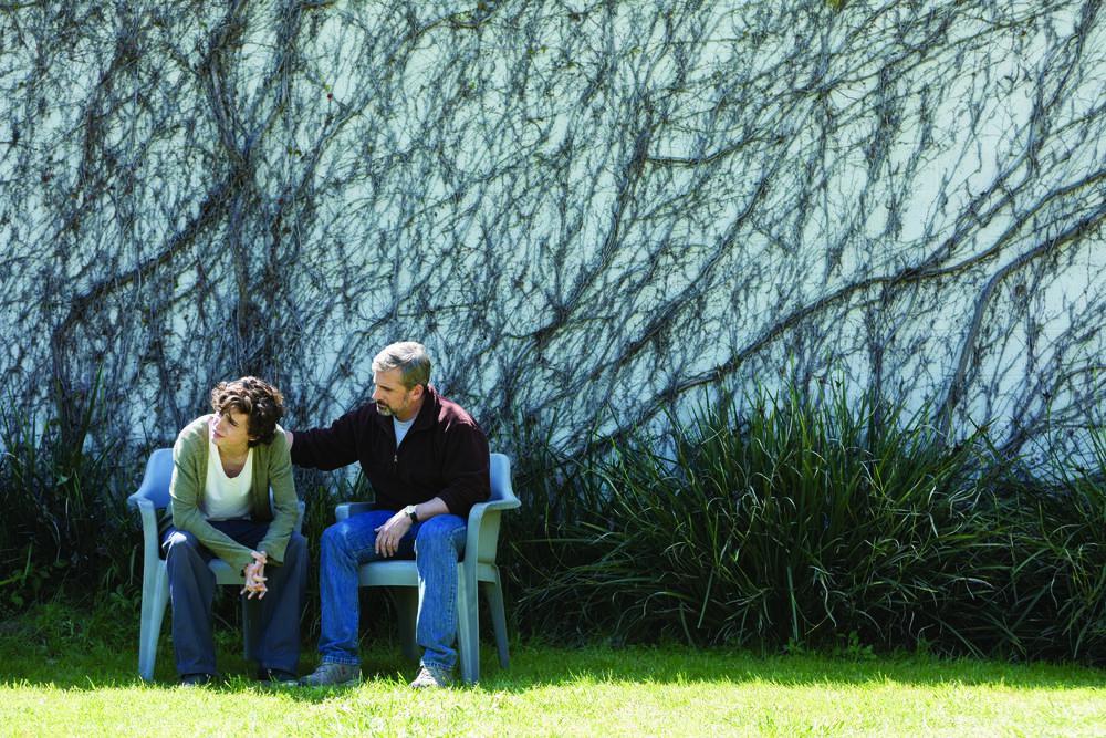 Beautiful Boy: Timothée Chalamet e Steve Carell in un'immagine tratta dal film